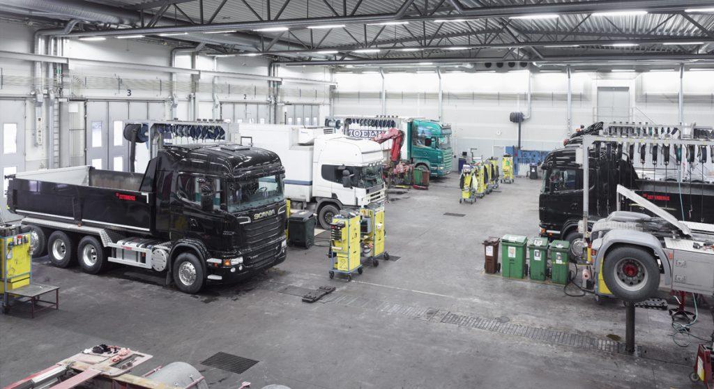 Scania service